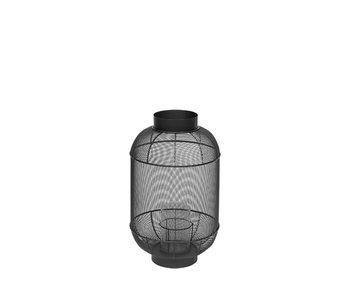 Broste Copenhagen Lanterne taureau métal / verre - Ø31XH50CM