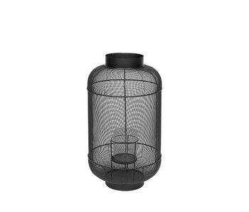 Broste Copenhagen Bull lantaarn metaal/glas -Ø36XH67CM