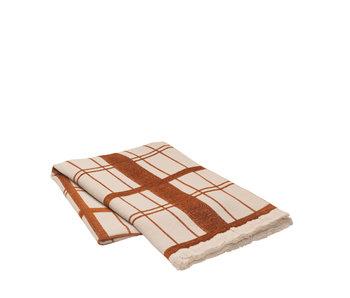 Broste Copenhagen Checker plaid cotton - W130XL180CM