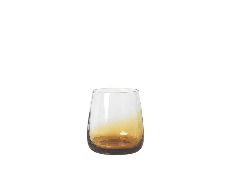 Broste Copenhagen Amber glazen 35cl - set van 12 stuks
