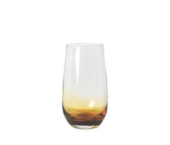 Broste Copenhagen Amber glazen 55cl - set van 12 stuks