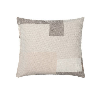 Broste Copenhagen Patch cushion incl filling - W60XL60CM