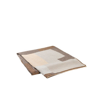 Broste Copenhagen Patch sengetæppe -W240XL260CM