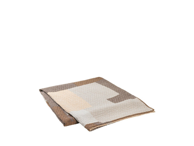 Broste Copenhagen Patch bedsprei -W240XL260CM