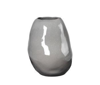 Broste Copenhagen Vase bruine bio - L34,5XL33,5XH43CM