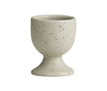Nordal Grainy egg cup sand - set of 4 pieces