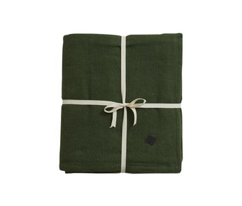Nordal Yoga blanket - dark green