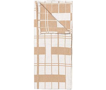 Broste Copenhagen Benny tea towels set of 2 pieces - indian tan