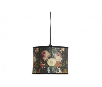 Nordal Baubo pendant lamp S - floral print