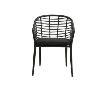 Nordal Salix chair - black
