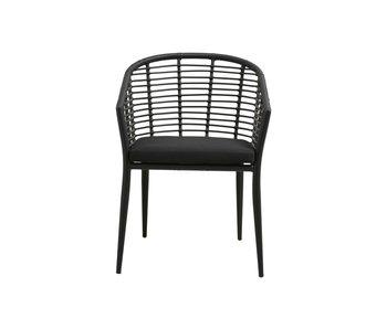 Nordal Salix stoel - zwart
