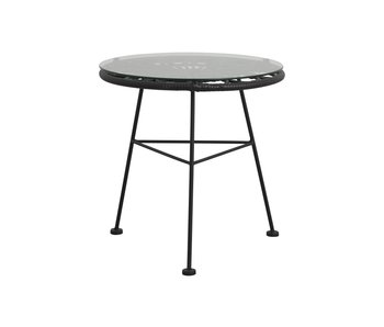 Nordal Alba tafel - zwart
