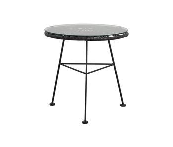 Nordal Alba Tisch - schwarz
