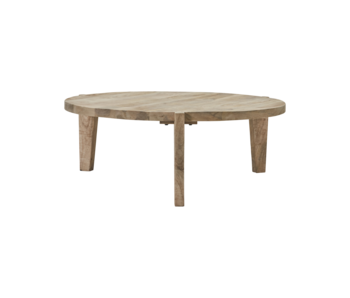 House Doctor Bali coffee table - natural Ø110cm