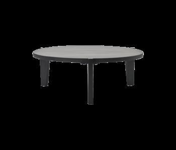 House Doctor Table basse Bali - noir Ø110cm