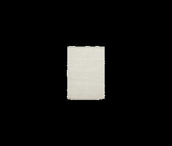 House Doctor Chindi Teppich - weiß 60x90cm