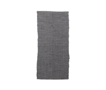 House Doctor Chindi rug - gray 70x160cm