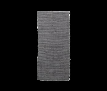 House Doctor Tapis Chindi - gris 70x160cm