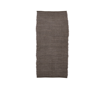 House Doctor Chindi vloerkleed - bruin 70x160cm