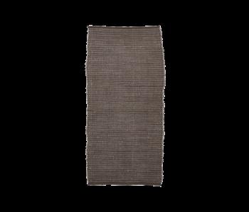House Doctor Tapis Chindi - marron 70x160cm