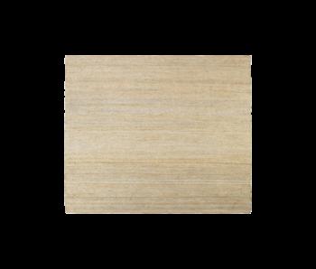 House Doctor Hempi vloerkleed - naturel 250x250cm