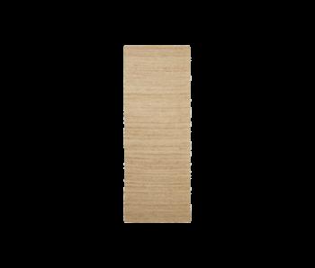House Doctor Hempi vloerkleed - naturel 90x300cm