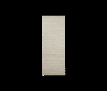 House Doctor Tapis Hempi - gris clair 90x300cm