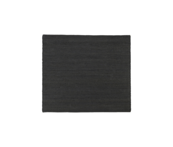 House Doctor Tapis Hempi - noir 180x180cm