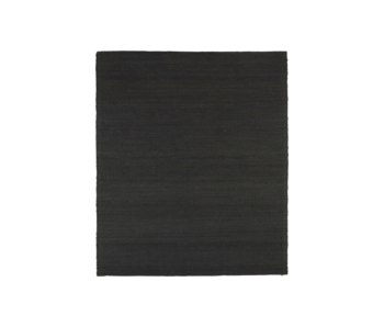 House Doctor Hempi rug - black 200x300cm
