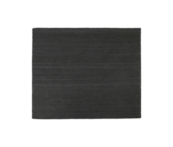 House Doctor Hempi rug - black 250x250cm