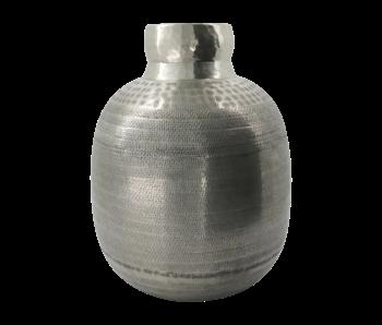 House Doctor Vase Artine - argent antique