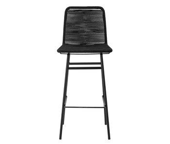 Bloomingville Mundo bar chair black