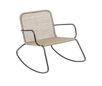 Bloomingville Mundo rocking chair brown