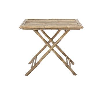 Bloomingville Sole inklapbare tafel naturel - bamboe