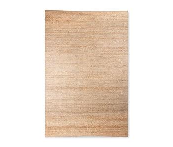 HK-Living Hemp rug - natural 180x280cm