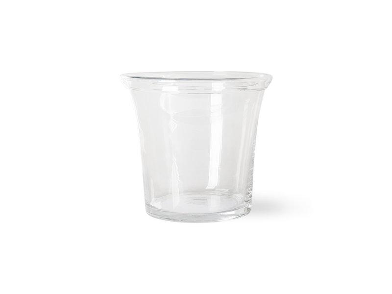HK-Living Flower pot glas