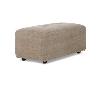 HK-Living Vint element sofa small hocker - taupe