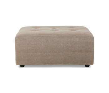 HK-Living Vint element sofa hocker - taupe