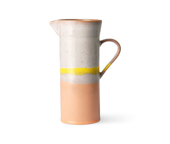 HK-Living Ceramic 70's jug - sunrise