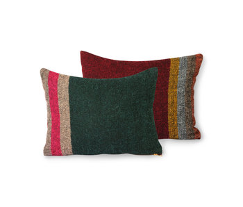 HK-Living Fluffy pillow - colorful
