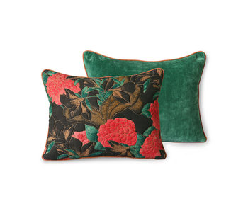 HK-Living Stitched pillow - floral