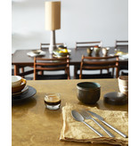 HK-Living Cone lampenkap zijde - naturel Ø36CM