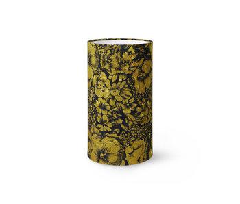 HK-Living Printed cylinder lampshade - floral
