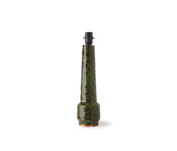 HK-Living Retro stone lamp base - green