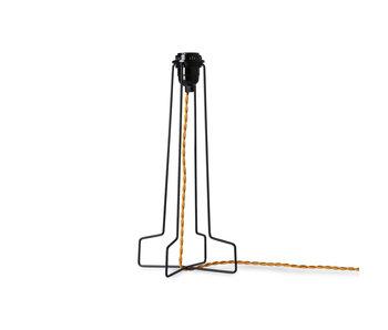 HK-Living Wire lampvoet metaal - zwart