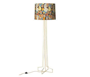 HK-Living Wire floor lamp metal - brass
