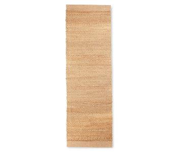 HK-Living Hemp rug runner - natural 60x200cm