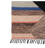 HK-Living Geprint vloerkleed indoor/outdoor - multikleur 120x180cm