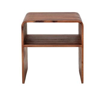 Bloomingville Hassel side table - brown