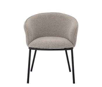 Bloomingville Cortone dining chair - gray